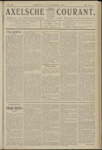 Axelsche Courant 1924-12-02