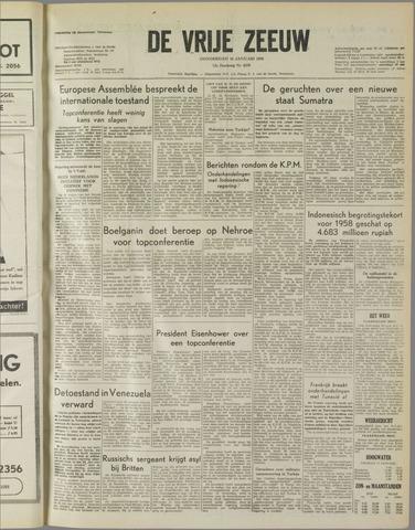 de Vrije Zeeuw 1958-01-16