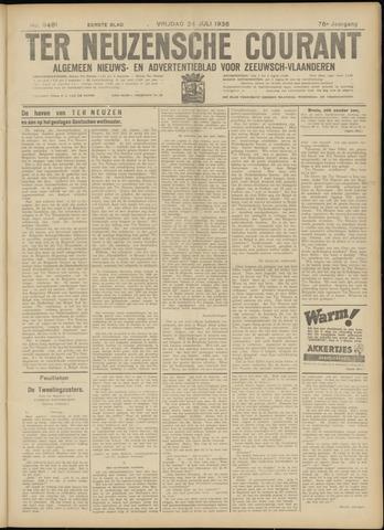 Ter Neuzensche Courant. Algemeen Nieuws- en Advertentieblad voor Zeeuwsch-Vlaanderen / Neuzensche Courant ... (idem) / (Algemeen) nieuws en advertentieblad voor Zeeuwsch-Vlaanderen 1936-07-24