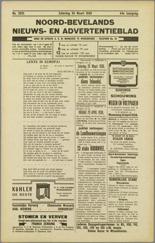 Noord-Bevelands Nieuws- en advertentieblad 1938-03-26
