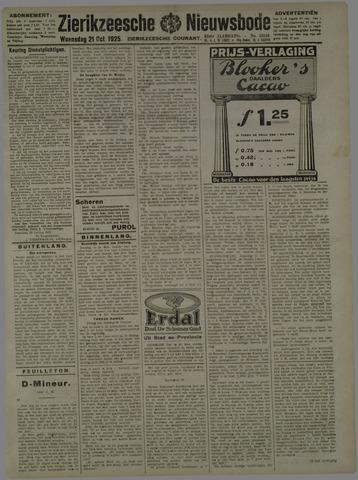Zierikzeesche Nieuwsbode 1925-10-21