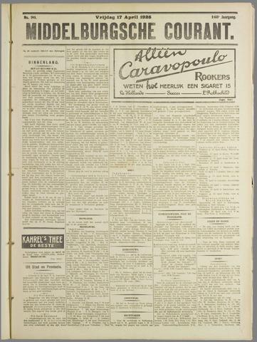 Middelburgsche Courant 1925-04-17