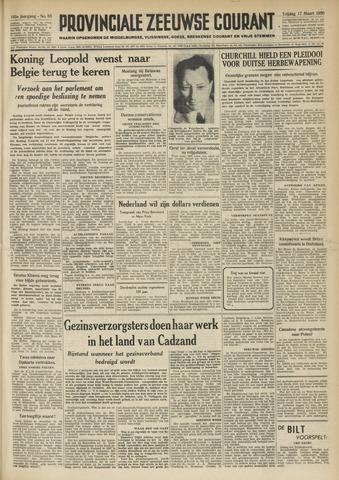 Provinciale Zeeuwse Courant 1950-03-17