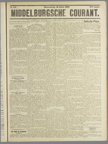Middelburgsche Courant 1927-06-15