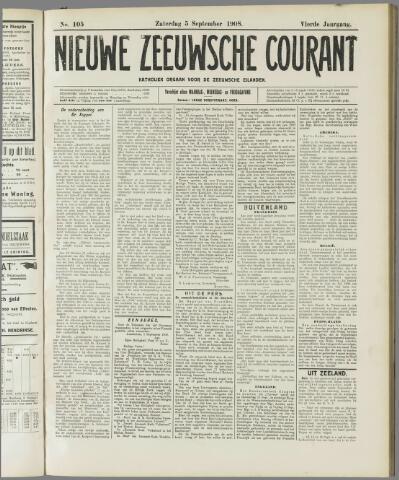 Nieuwe Zeeuwsche Courant 1908-09-05