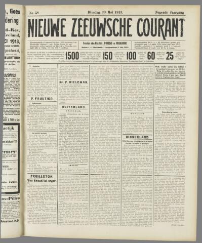 Nieuwe Zeeuwsche Courant 1913-05-20