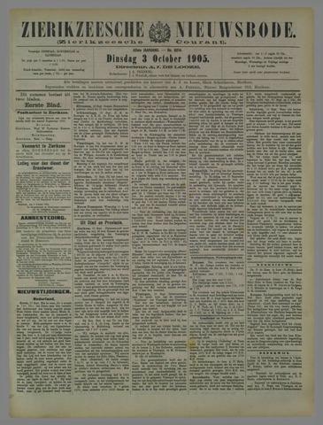 Zierikzeesche Nieuwsbode 1905-10-03