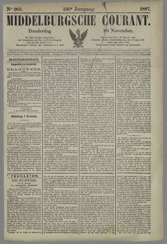 Middelburgsche Courant 1887-11-10