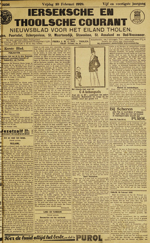 Ierseksche en Thoolsche Courant 1928-02-10