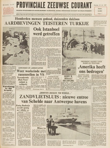 Provinciale Zeeuwse Courant 1967-07-24