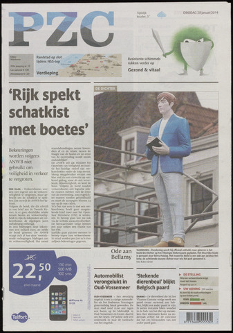 Provinciale Zeeuwse Courant 2014-01-28