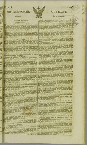 Middelburgsche Courant 1825-09-20