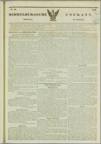 Middelburgsche Courant 1846-02-12