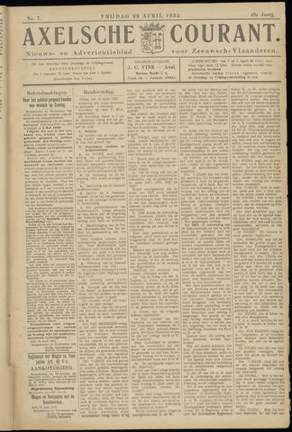 Axelsche Courant 1932-04-22