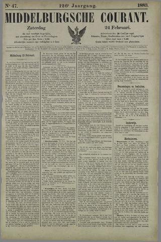 Middelburgsche Courant 1883-02-24