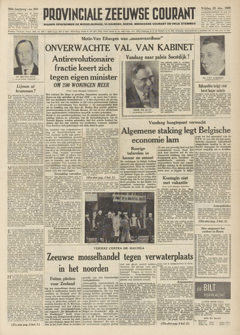 Provinciale Zeeuwse Courant 1960-12-23