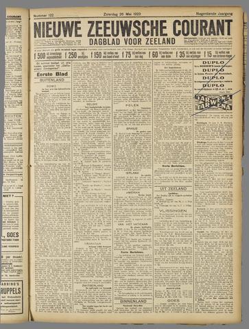 Nieuwe Zeeuwsche Courant 1923-05-26