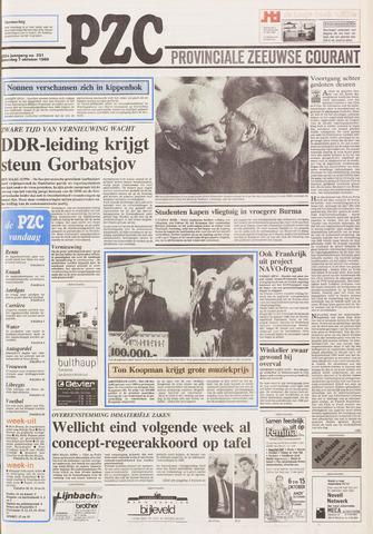Provinciale Zeeuwse Courant 1989-10-07