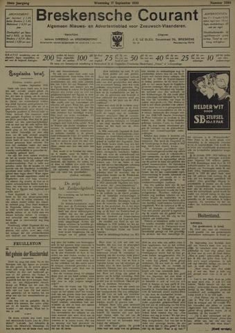 Breskensche Courant 1930-09-17
