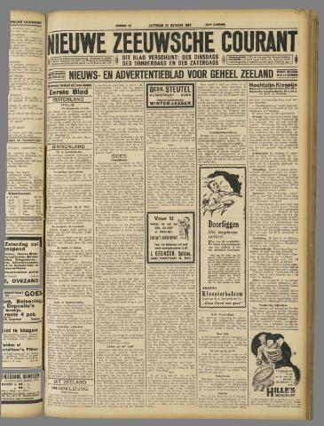 Nieuwe Zeeuwsche Courant 1927-10-22