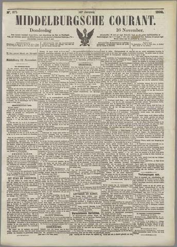 Middelburgsche Courant 1899-11-16