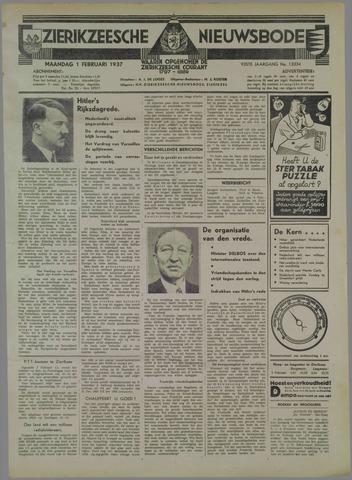 Zierikzeesche Nieuwsbode 1937-02-01