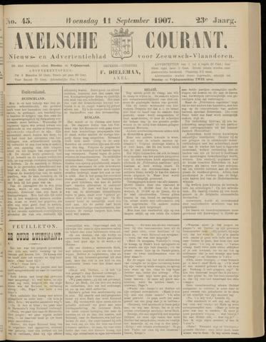 Axelsche Courant 1907-09-11