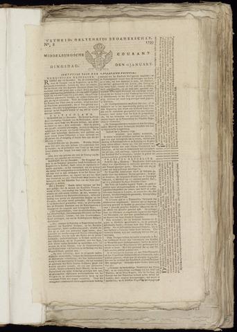 Middelburgsche Courant 1799-01-15