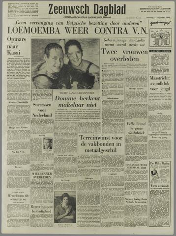Zeeuwsch Dagblad 1960-08-27
