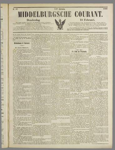 Middelburgsche Courant 1908-02-13
