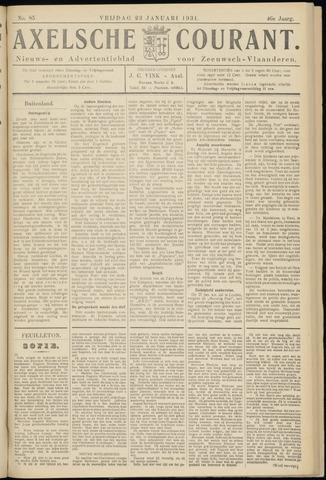 Axelsche Courant 1931-01-23