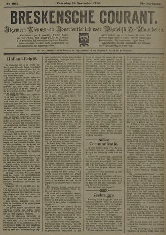 Breskensche Courant 1914-11-28