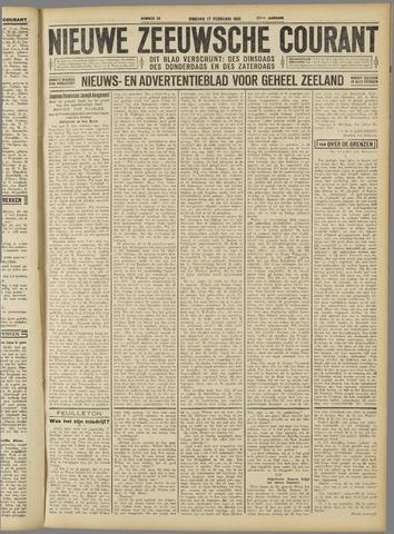 Nieuwe Zeeuwsche Courant 1931-02-17