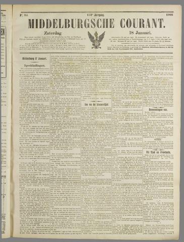 Middelburgsche Courant 1908-01-18