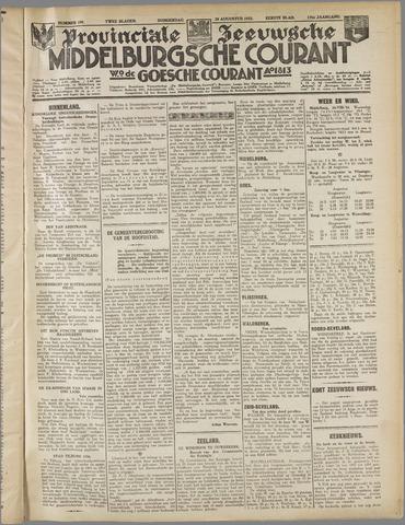 Middelburgsche Courant 1933-08-24