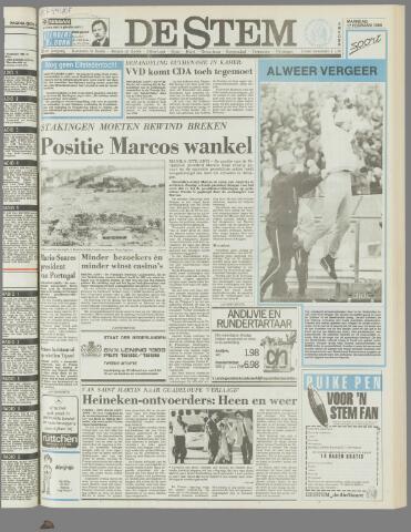 de Stem 1986-02-17