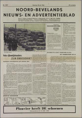Noord-Bevelands Nieuws- en advertentieblad 1966-07-30