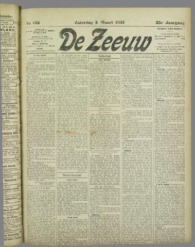 De Zeeuw. Christelijk-historisch nieuwsblad voor Zeeland 1921-03-05