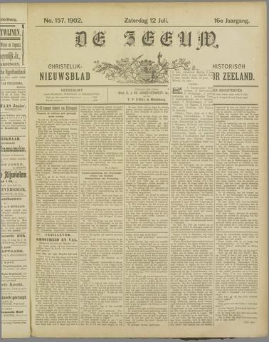 De Zeeuw. Christelijk-historisch nieuwsblad voor Zeeland 1902-07-12