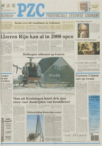 Provinciale Zeeuwse Courant 1999-02-12