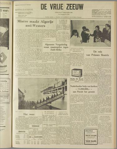 de Vrije Zeeuw 1962-11-07