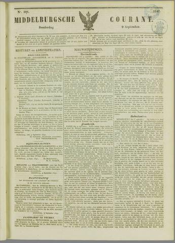 Middelburgsche Courant 1847-09-09