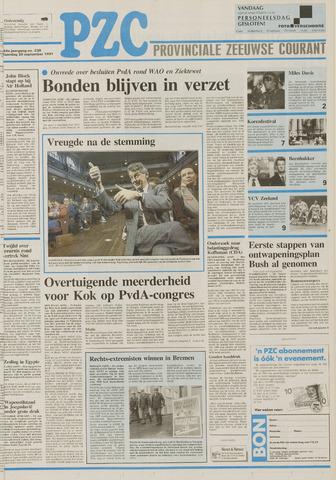 Provinciale Zeeuwse Courant 1991-09-30