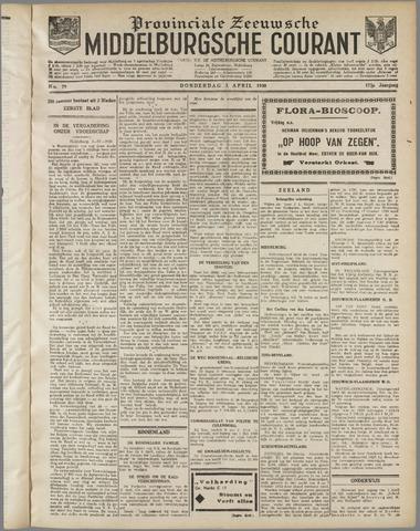 Middelburgsche Courant 1930-04-03