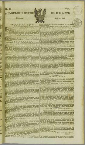 Middelburgsche Courant 1825-05-31