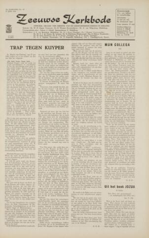 Zeeuwsche kerkbode, weekblad gewijd aan de belangen der gereformeerde kerken/ Zeeuwsch kerkblad 1966-06-17