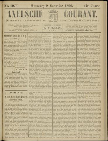 Axelsche Courant 1896-12-09