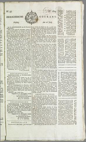 Zierikzeesche Courant 1824-07-16