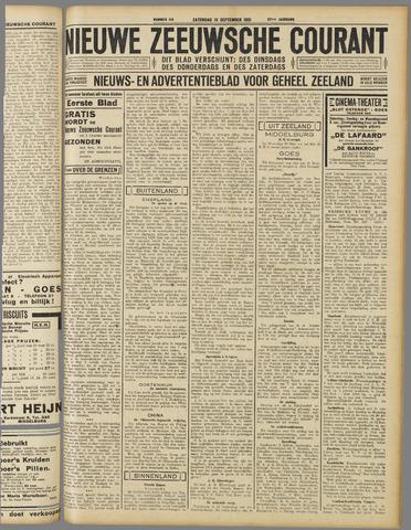Nieuwe Zeeuwsche Courant 1931-09-19