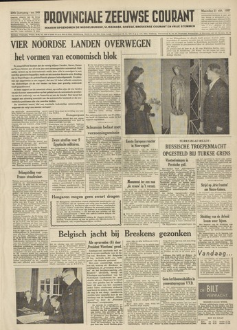 Provinciale Zeeuwse Courant 1957-10-21